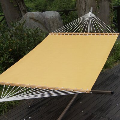 Polyester Tree Hammock Color: Yellow