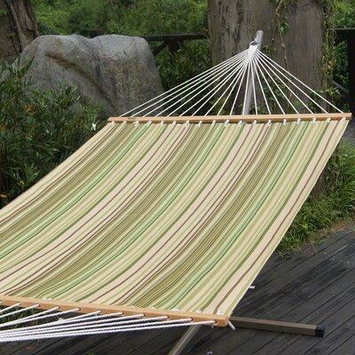 Polyester Tree Hammock Color: Green Stripe