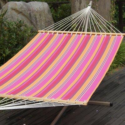 Polyester Tree Hammock Color: Pink Stripe
