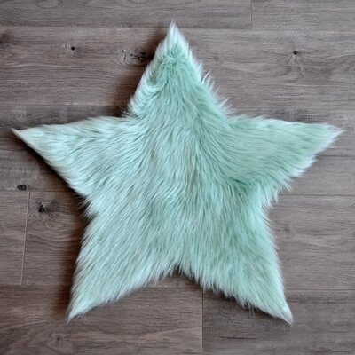 Mint Area Rug Rug Size: 3 x 3