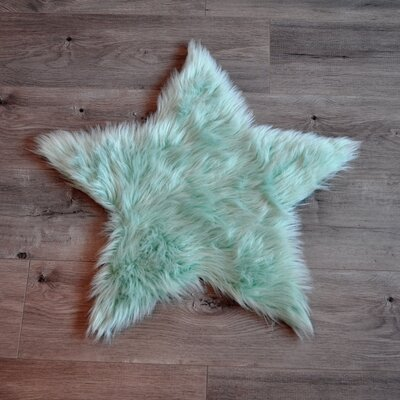 Mint Area Rug Rug Size: 2 x 2