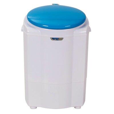 4.5 cu. ft, Top Load Super Compact Washer Color: Blue MWB