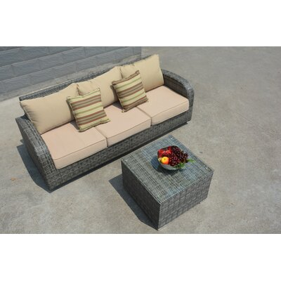 Bayonne 8 Piece Deep Seating Group with Cushion