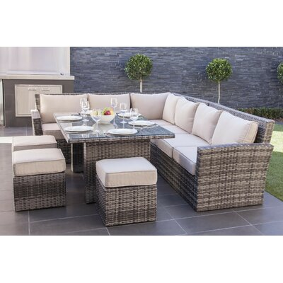 Magnificent Sectional Set Cushions Dengler - Product picture - 20393