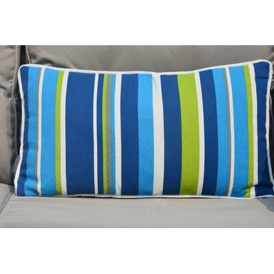 Casares Indoor/Outdoor Fabric Lumbar Pillow