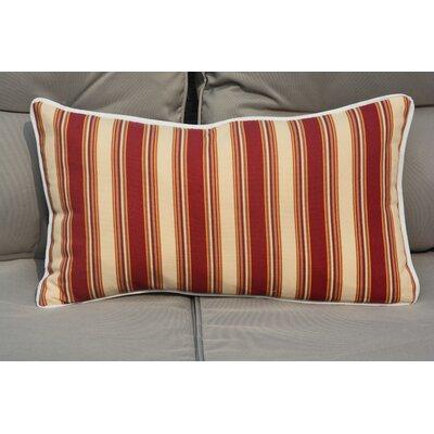 Tolland Indoor/Outdoor Stripe Lumbar Pillow