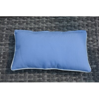 Melany Indoor/Outdoor Plain Lumbar Pillow