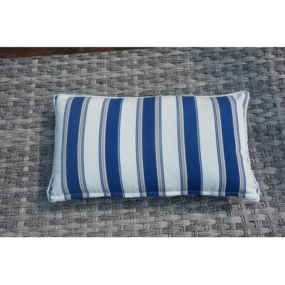 Melany Indoor/Outdoor Stripe Lumbar Pillow