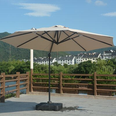 11 Mollett Cantilever Umbrella Fabric: Khaki