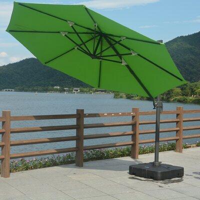 11 Mollett Cantilever Umbrella Fabric: Green