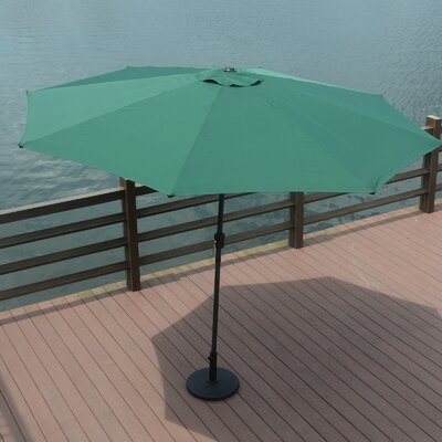 10 Mickinley Market Umbrella Fabric: Green