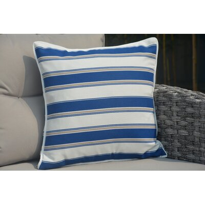 Beckett Striped Outdoor Throw Pillow