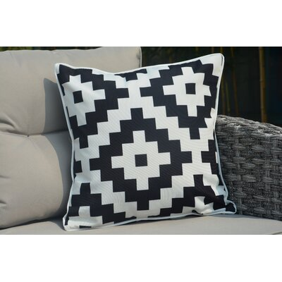 Beckett Square Zippered Outdoor Throw Pillow