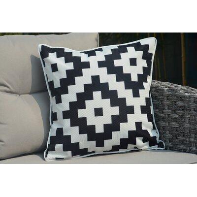 Beckett Square Zippered Outdoor Throw Pillow