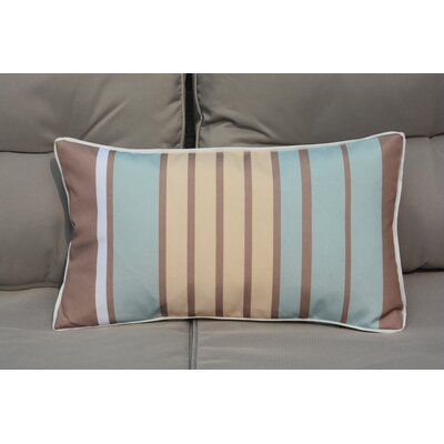 Bedford Rectangular Striped Outdoor Lumbar Pillow