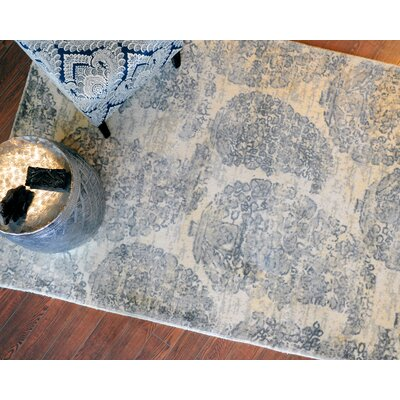 Else Hand-Woven Ivory/Gray Area Rug Rug Size: 5 x 8