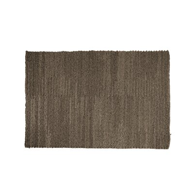 Asta Java Hand-Woven Charcoal Area Rug Rug Size: 8 x 10