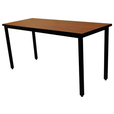 60 W 139 Height Adjustable Training Table Tabletop Finish: Grand Cherry, Size: 24 x 60 x 30