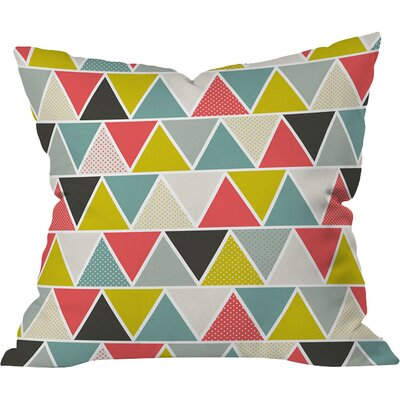 Triangulum Throw Pillow Size: Medium