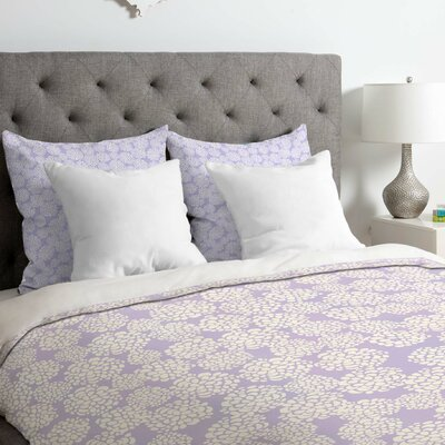 Periwinkle Duvet Cover Size: King