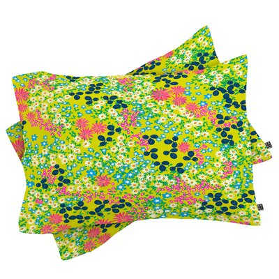 Joy Laforme Flower Bed III Pillowcase