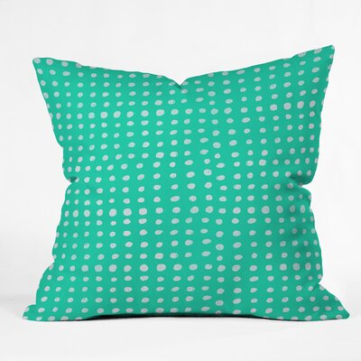 Leah Flores Throw Pillow Size: 18 H x 18 W x 5 D