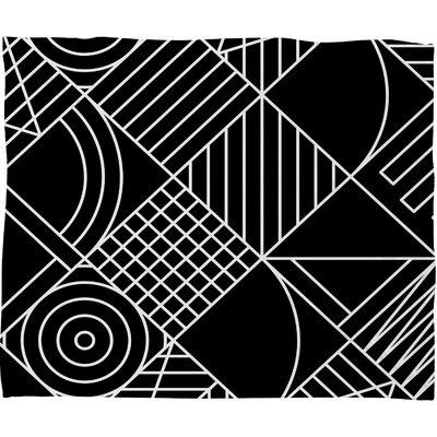Fimbis Whackadoodle Fleece Throw Blanket Size: 60 H x 50 W x 1.5 D