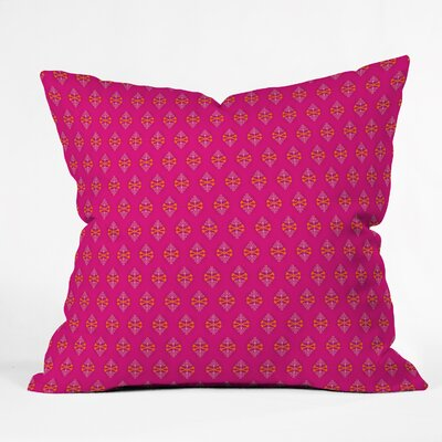 Caroline Okun Throw Pillow Size: 16 H x 16 W x 4 D