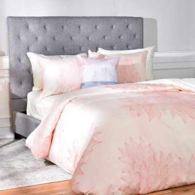 Duvet Cover Set Size: Twin/Twin XL, Color: Pink