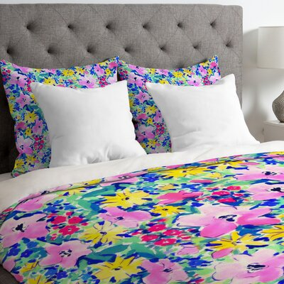 Floreale Duvet Cover Size: Twin/Twin XL