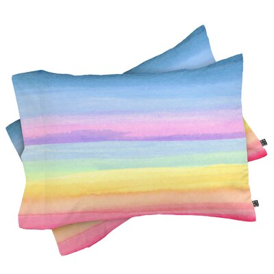 Rainbow Ombre Pillowcase