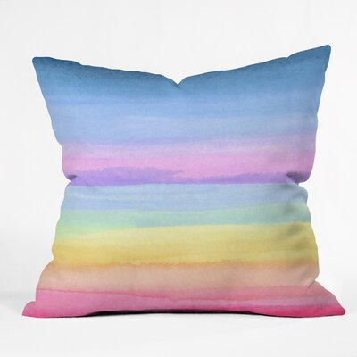 Contemporary Throw Pillow Size: 18 H x 18 W x 5 D