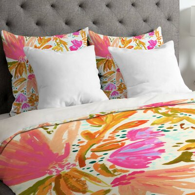 Blossom Duvet Cover Size: Queen
