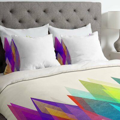 Colorland Duvet Cover Size: King