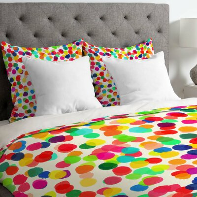Rebecca Allen a Celebration Duvet Cover Size: King