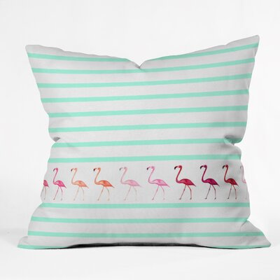 Monika Strigel Throw Pillow Size: 18 H x 18 W x 5 D