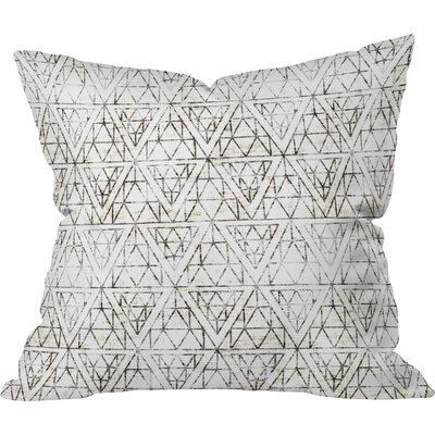 Aisha Throw Pillow Size: 16 H x 16 W x 4 D