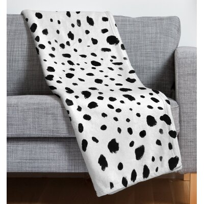 Dalmatian Fleece Throw Blanket
