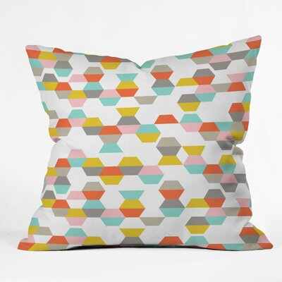 Heather Dutton Throw Pillow Size: 18