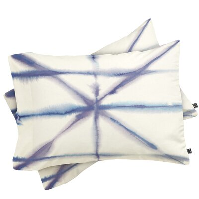 Light Dye Foldings Pillowcase