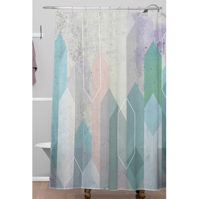 Raw Gem Shower Curtain