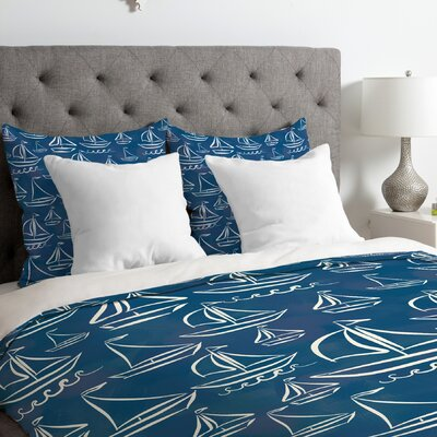 Sail Away Duvet Cover Size: Queen