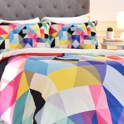 Three of the Possessed Modele 5 Duvet Cover Size: Queen