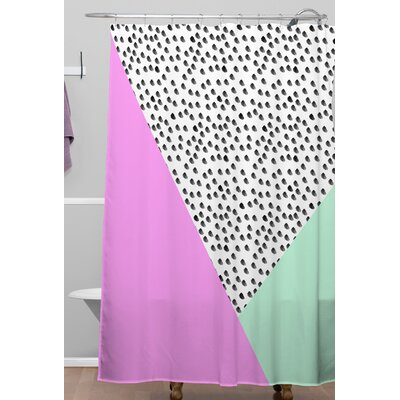 Allyson Johnson Spotted Modern Shower Curtain