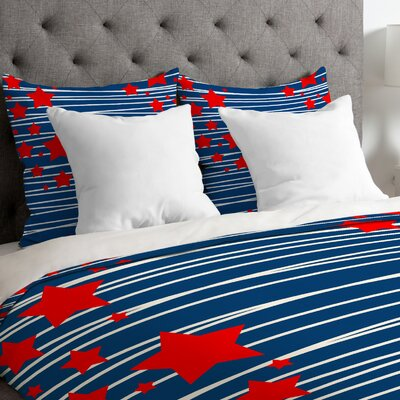 Spangled Duvet Cover Size: Twin/Twin XL