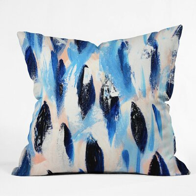 Allyson Johnson Salmon Ll Throw Pillow Size: 16