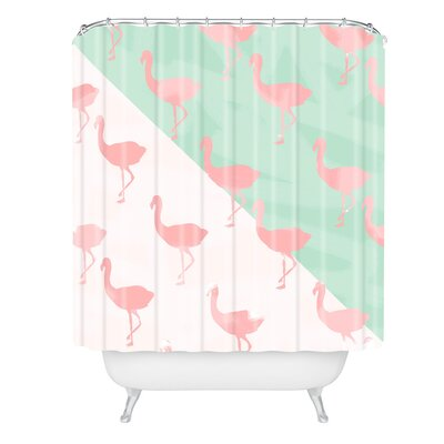 Flamingos Shower Curtain