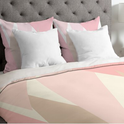 Blush Mod Duvet Cover Size: Twin/Twin XL