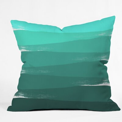 Ombre Throw Pillow Size: 16 H x 16 W x 4 D
