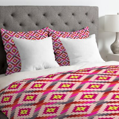 Diamonds Bright Duvet Cover Size: Queen